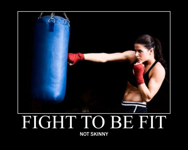 Be healthy, be fit, be strong.
