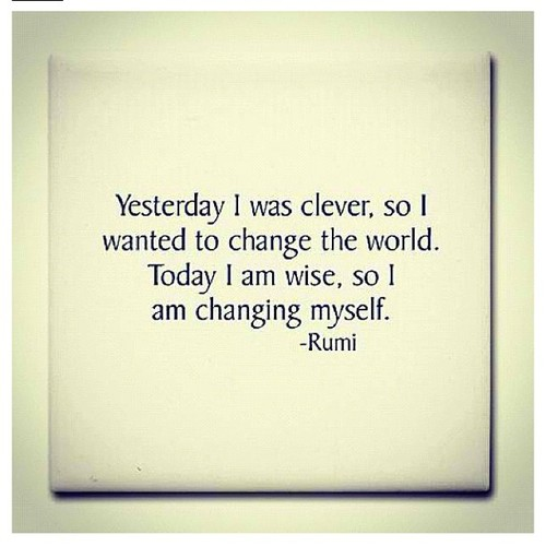 Change from within.